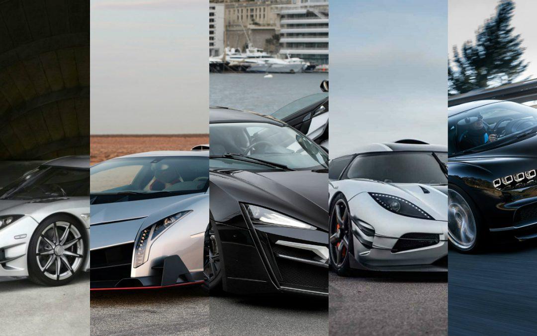 El lujo convertido en autos