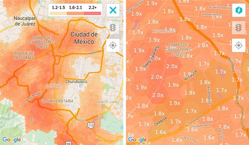 Cuándo y dónde ganar más con Uber o Cabify