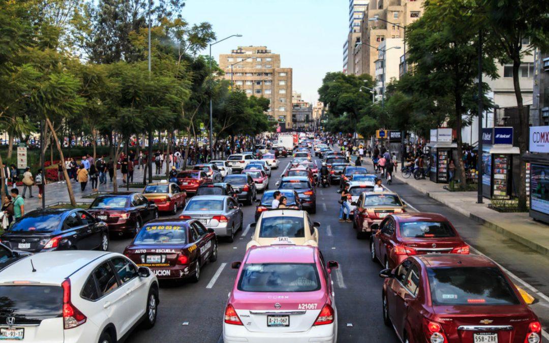 6 datos interesantes del tráfico en la CDMX